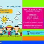 San Miguel abre el plazo de inscripción para los talleres en el CEIP El Monte