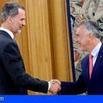El Presidente de Canarias se reunió con Felipe VI y abordó diferentes temas