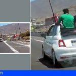 Detenida una turista por conducción temeraria en la TF-1 Adeje