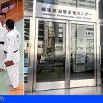 El tinerfeño David Pérez, inscribe el «Círculo de Amistad XII» en el Judo Center de Tokio