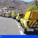 Parlamento de Canarias propone la máxima distinción para los efectivos que han luchado contra el fuego