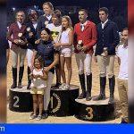 Granadilla felicita a Fernández y Cardona por su triunfo en el Concurso Nacional de Hípica
