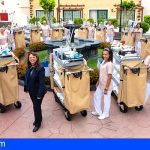 GF Isabel en Adeje incluye 14 nuevos carros de limpieza robotizados de Trend Robotics