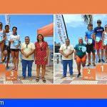 Stgo. del Teide | Fidel Sebriano y Dácil H. Hernández, ganadores del Acuatlón