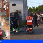 Cruz Roja albergó a 1.700 personas durante los incendios en Gran Canaria