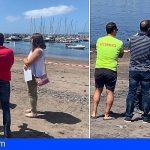 Cierran la zona del Muelle de Las Galletas por la presencia de enterococos