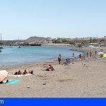 Arona abre la Playa de Las Galletas, los análisis confirman que es apta para el baño