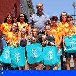 Granadilla hace un reconocimiento a los campeones de taekwondo y gimnasia rítmica