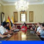 El Ayuntamiento isorano se reunió con la Asociación Empresarial del municipio