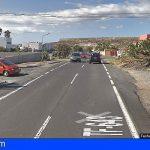 Una mujer herida en una colisión coche–moto entre El Médano y Los Abrigos