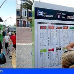 TITSA y Metro de Tenerife modifican sus horarios y frecuencias