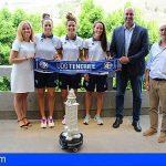Granadilla | La UDG Egatesa cede temporalmente el trofeo Teresa Herrera al Ayuntamiento