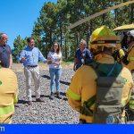 El Cabildo de Tenerife mejorará las partidas dedicadas a medios contra incendios