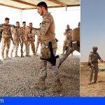 """La Brigada """"Canarias"""" XVI en Irak alcanza el ecuador de su misión"""