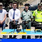 Canarias | Los drones de la DGT controlan ya desde el aire las infracciones de tráfico en Canarias