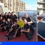 Tenerife | 15 jóvenes instalan solar térmica en una casa de acogida de Cáritas