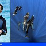El submarinista que fue engullido por una ballena asistirá al Arona Son Atlántico