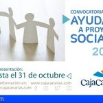 La Fundación CajaCanarias convoca las Ayudas a Proyectos Sociales