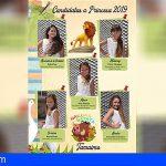 5 niñas aspiran a ser Reina de las Fiestas en Tamaimo