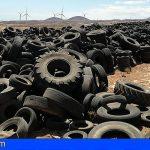 El Cabildo eliminará 8.000 toneladas de neumáticos en Arico
