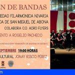 San Miguel celebra este fin de semana el Certamen de Bandas