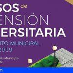 La ULL ofrece 3 cursos de formación en Santiago del Teide