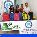 La Fundación Pedro Rodríguez Ledesma entregó a San Miguel mochilas solidarias