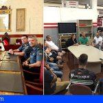 Guía de Isora | Josefa Mesa se reunió con los diversos cuerpos y fuerzas de seguridad