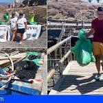 Arico | Terramare y Ecooceanos retiran 600 kg de residuos en la costa