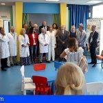 Pediatría de La Candelaria ya dispone de un nuevo espacio de ocio y estudio