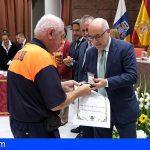 Morales agradece al Parlamento el homenaje al operativo de los incendios
