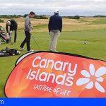 Canarias se promociona en varias ciudades británicas como destino para practicar golf