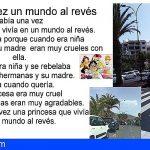 Juan Santana   Risas por aparcamientos al revés, en calle Amsterdan de Los Cristianos. Arona