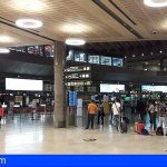 Los aeropuertos canarios registraron 33,5 millones de pasajeros hasta septiembre