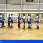 El Arona Guanches Hockey Club pierde contra el CPLValladolid en Las Galletas