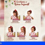 5 candidatas aspiran a convertirse en Reina Infantil de Arona