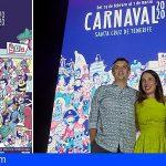 Santa Cruz presenta el cartel del Carnaval 2020 con un diseño innovador