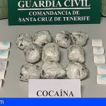 Le cogen con 1 kg de cocaína saliendo del puerto de La Palma