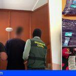 Parque de La Reina, El Fraile y El Médano entre los receptores de cocaína desde Uruguay