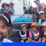 La Escuela de Vela de Guía de Isora consigue el premio de la Fundación Ecomar