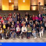 50 personas de San Miguel realizaron la actividad «La Orotava Nocturna»