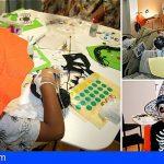 Los pacientes pediátricos de La Candelaria se divierten con la fiesta de Halloween