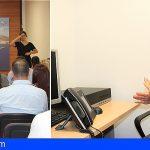 Arona promueve mejoras en el Servicio de Interpretación de Lengua de Signos