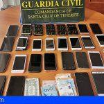 Le descubren 28 móviles robados en el control de equipajes en Los Rodeos