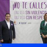 Arona dice «No te Calles» ante la Violencia hacia las Mujeres
