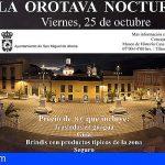 San Miguel organiza una visita nocturna a la Villa de La Orotava