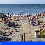 Arona | Detenidos por robar al descuido a bañistas en la Playa del Camisón