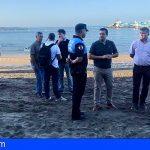 Las playas y zonas de baño de Arona serán las más seguras de Canarias