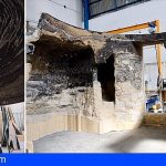Las Palmas | La réplica de la cueva de Risco Caído ya cuenta con asombrosas piezas