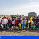 Jóvenes se sumaron a la limpieza de la playa La Jaquita a través del proyecto 'Libera'